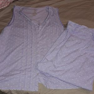 Other - 2pc womens sz XL lavender purple jammies